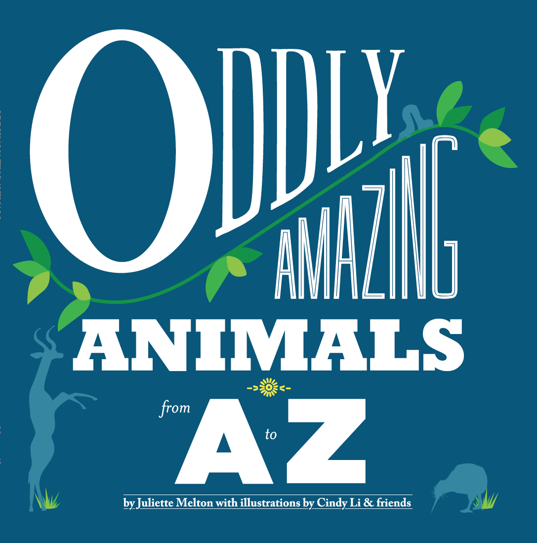 The cover of Oddly Amazing Animals A-Z